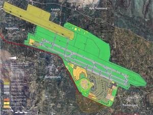Airport Iraklio Crete in Kastelli Pediados